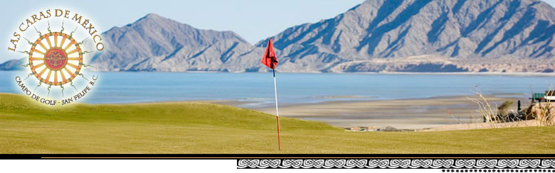 Golf Course overlooking the Sea of Cortez